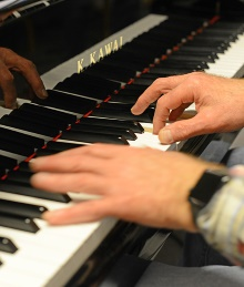 Piano poem: Guds fred