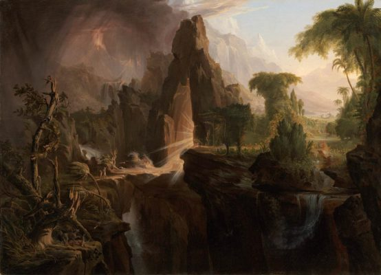 Thomas Cole: Expulsion from the Garden of Eden (1828)
