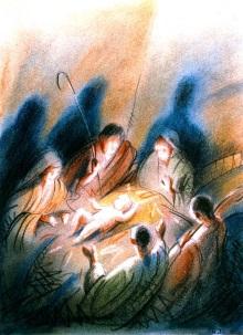 Barnekirke med julefeiring