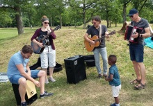 Sommeravslutning for barnekirken